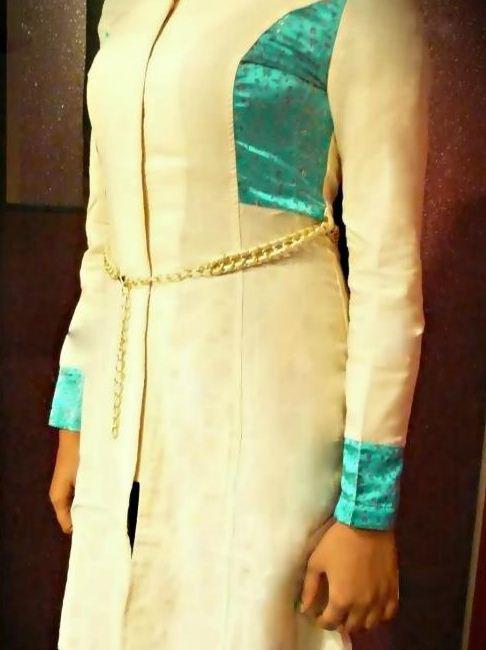مدل مانتو سنتی ایرانی سفید
