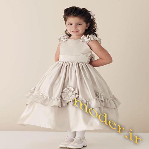 مدل لباس مجلسی برای دختر بچه ها
