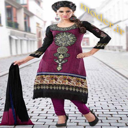 مدل لباس مجلسی هندی با ساری