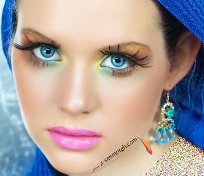 مدل آرایش زنانه زیبا و خاص
