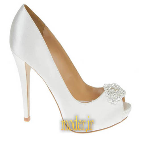 مدل کفش مجلسی سفید شیک