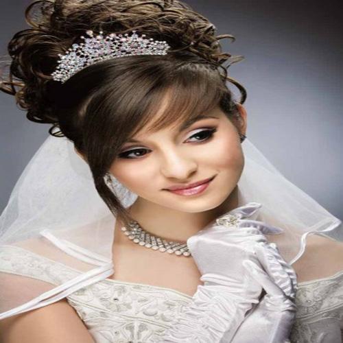 بهترین مدل موی عروس زیبا